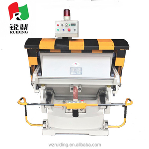 hot sale creasing and cutting machine with CE for Paper Label Cardboard Corrugated box Carton box