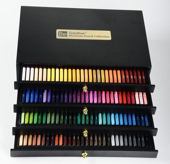 premium high quality 500 colored pencil set for professional artists