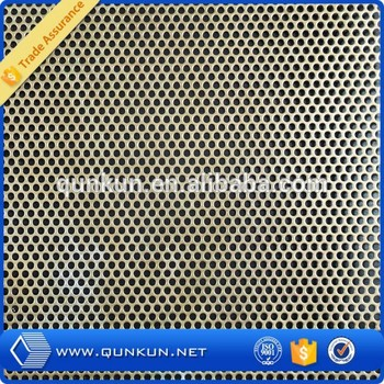 Hexagonal Galvanize 1mm Hole Galvanized Decorative
