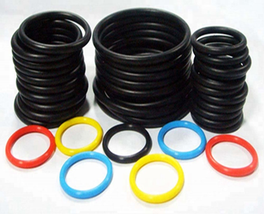 70/80/90 shore black/brown FKM rubber o ring/NBR ring/EPDM rubber sealing gasket