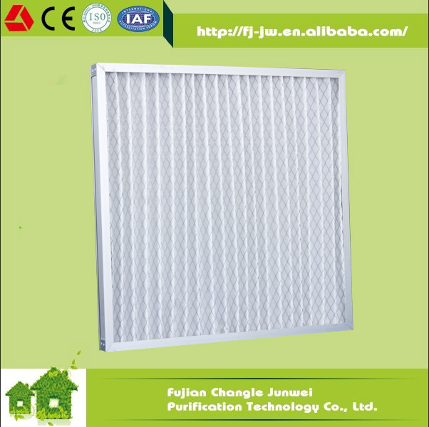 pre panel filter g3 g4 air filter media manufacture for air conditioning HVAC system pre filter