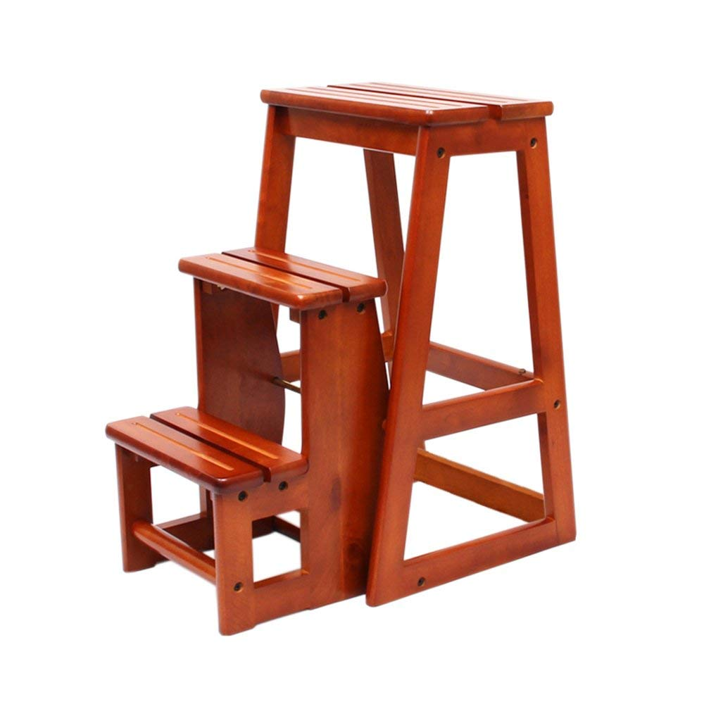 Exceptionnel LiuJianQin Step Stool ZXQZ Step Stools Solid Wood Staircase Stool  Multi Function Kitchen Ladder Stool