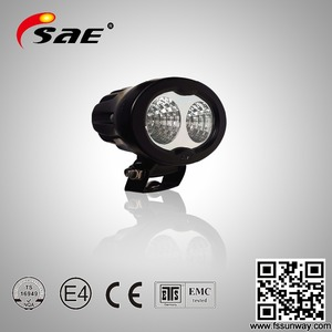 10w chip led black led work light IP67 led driving light 20w 12v led worklight