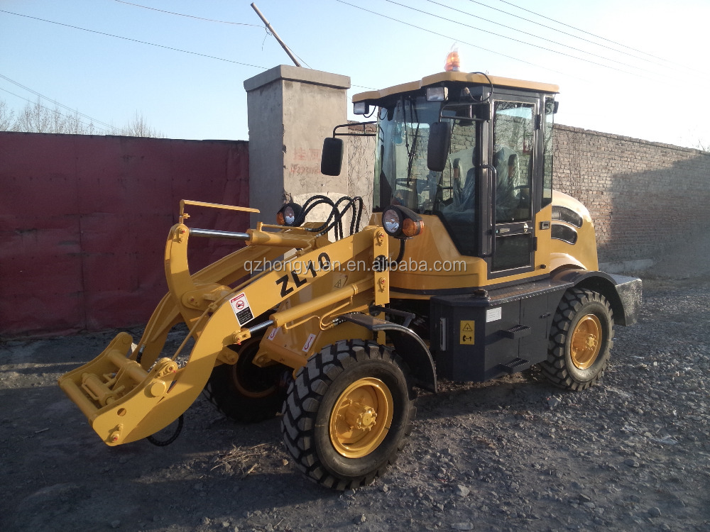 Cheap construction equipment ZL10A wheel loader for sale