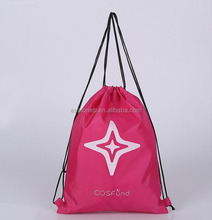 Simple and cheap promotion drawstring bag