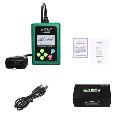2018 new arrive Lonsdor JLR IMMO Doctor Key Programmer by auto diagnose tool