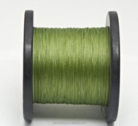 Olive green PE braid carp fishing line