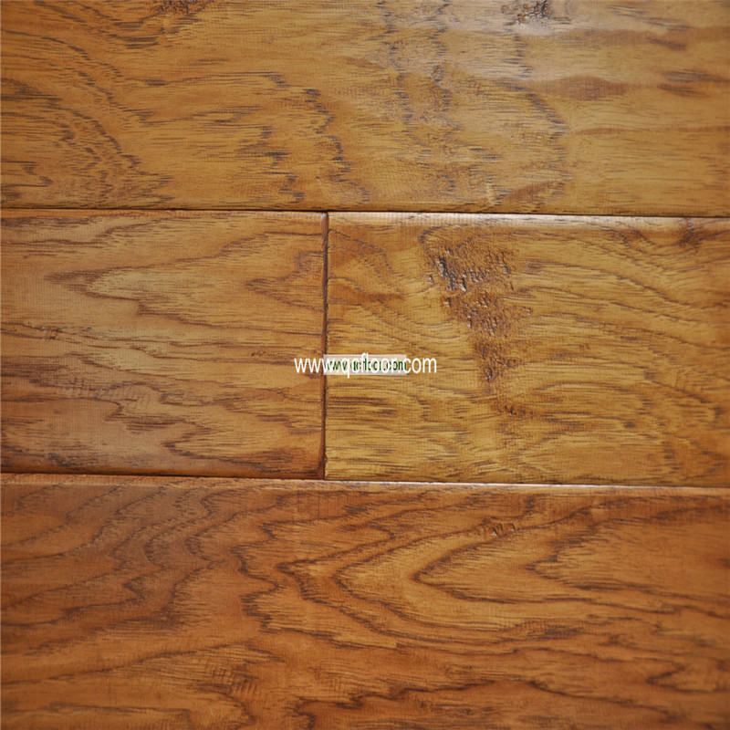 handscraped flooring antique hickory