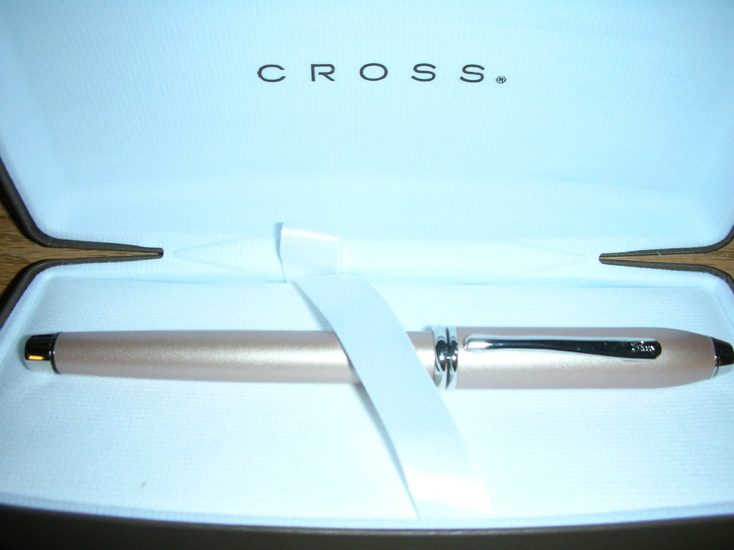 Cross Townsend Meteorite Champagne Fountain Pen with Solid 14k Extra-fine Nib