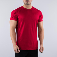 2018 new style casual sports gym workout street wear clothes men wholesale slim blank plain t shirts in bulk