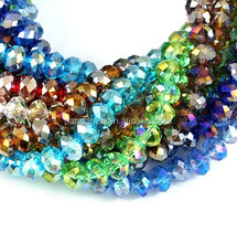 Wholesale Manufacturers Handmade 8x6mm Glass Jewelry Beads Strands