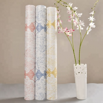 Home Decoration Thick Washable Pvc No Glue Self Adhesive Vinyl Wallpaper
