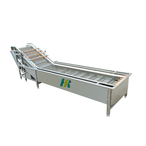 Industrial the root stock fruit and vegetable producing line carrot cleaning machine