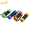 Customize colors portable ABS plastic 1 mode strong light bright small mini led flashlight led torch light