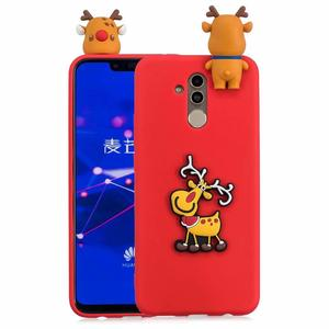 Soft Tpu Case Cover 3D Toy Santa Claus Deer Silicone Phone Case for Huawei Mate 20 Lite Nova 3i 3 Silicone case