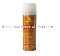 sunless tanning spray aircan tanning solution