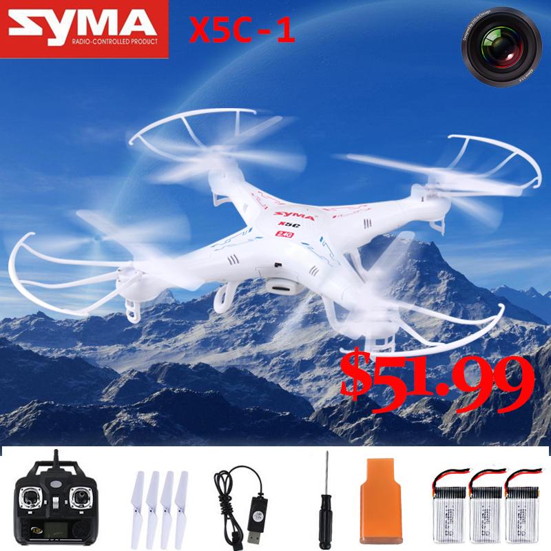Brand New SYMA X5C Remote Control Toy Remote Control Rc Helicopter UAV 2.4G 4CH