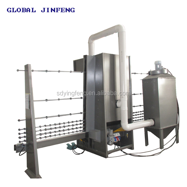 JFP2000 automatic gun spray glass design sandblasting machine for window door  with CE