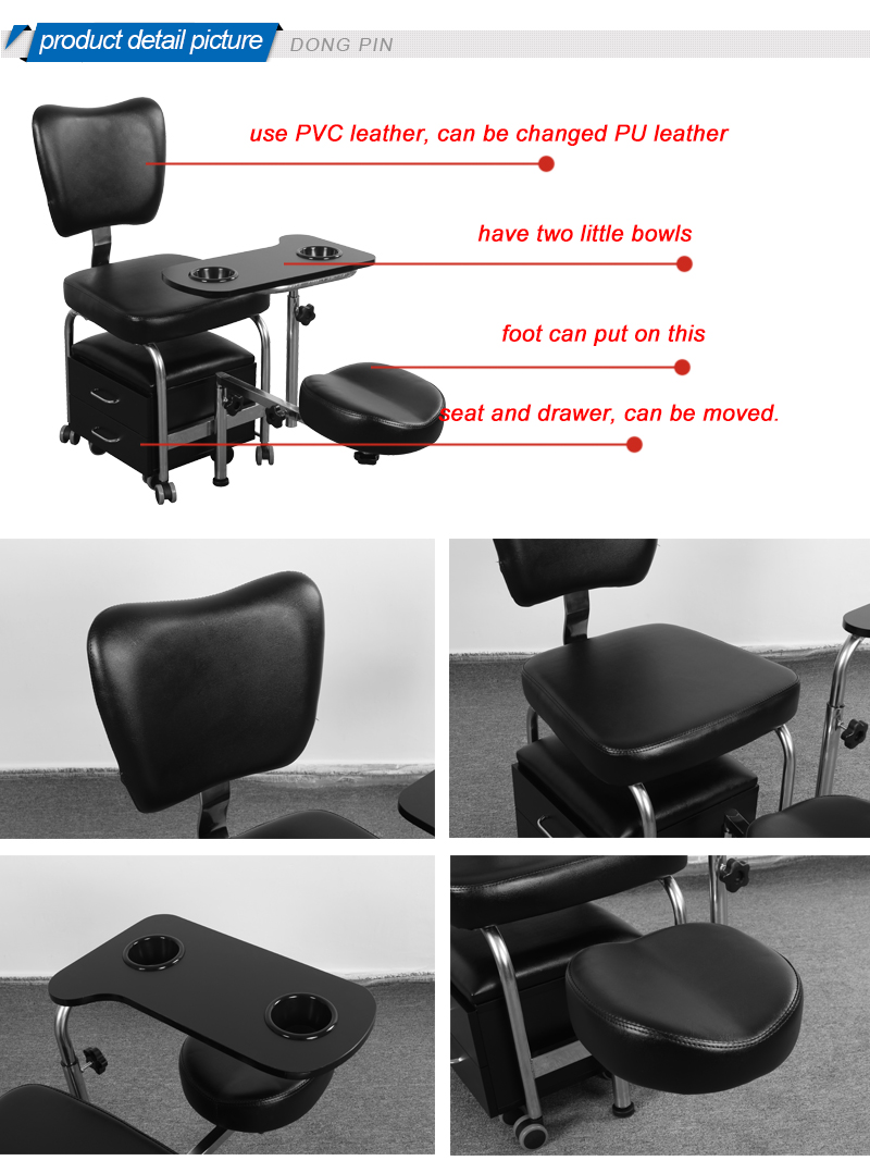 Pedicure chairs for foot spa buy pedicure chairs used for Mobile nail technician table