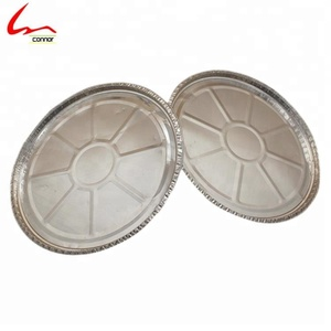 12inch Disposable Pizza Aluminum Foil Oven Tray/Baking Pizza Pan