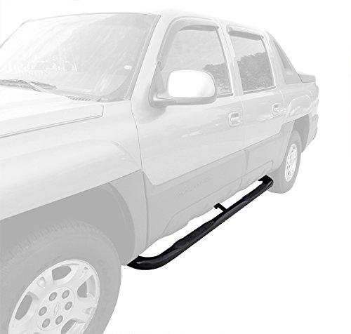 New 3/'/' Side Step Nerf Bars For Suburban//Avalanche//Yukon XL 1//2 Ton Black