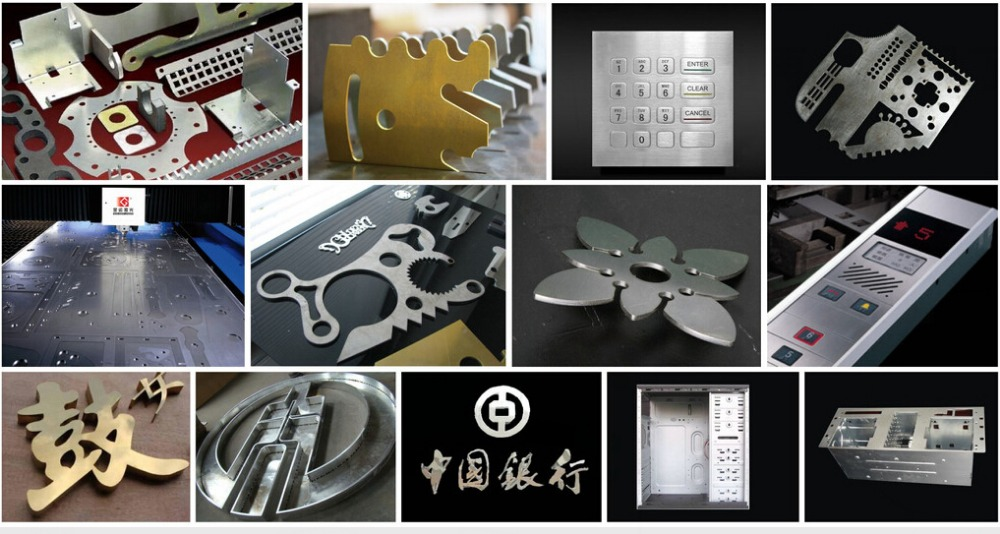 Discount price optical sheet metal fiber laser cutting machine, fiber laser cutter for stainless steel