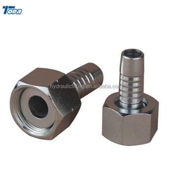 20211 screw pipe hydraulic female adapter hose machine stainless fitting