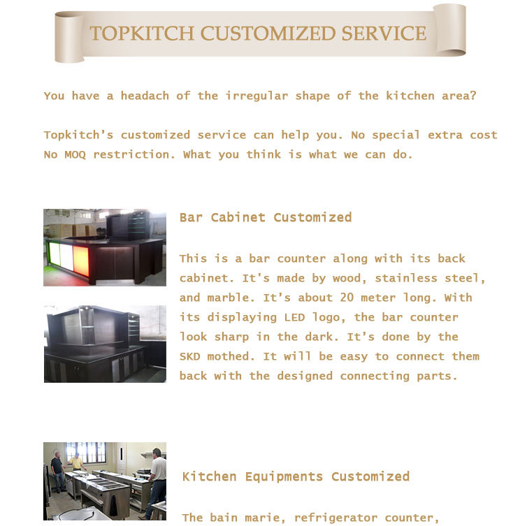 Topkitch supplying and designing commercial kitchen names for Kitchen equipment names