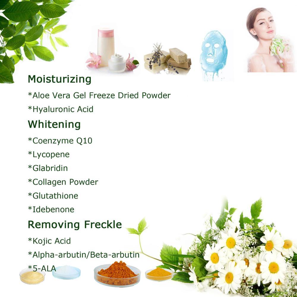 Cosmetic Raw Material Kojic Acid Powder For Skin Whitening