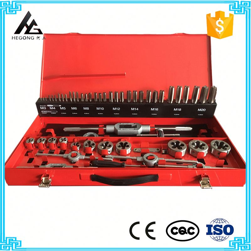 Quality and quantity assured High speed steel hand tap and die tool kit hot sale