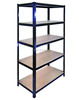 NEW 5 TIER Heavy Duty Metal Shelving Industrial Boltless Shelf