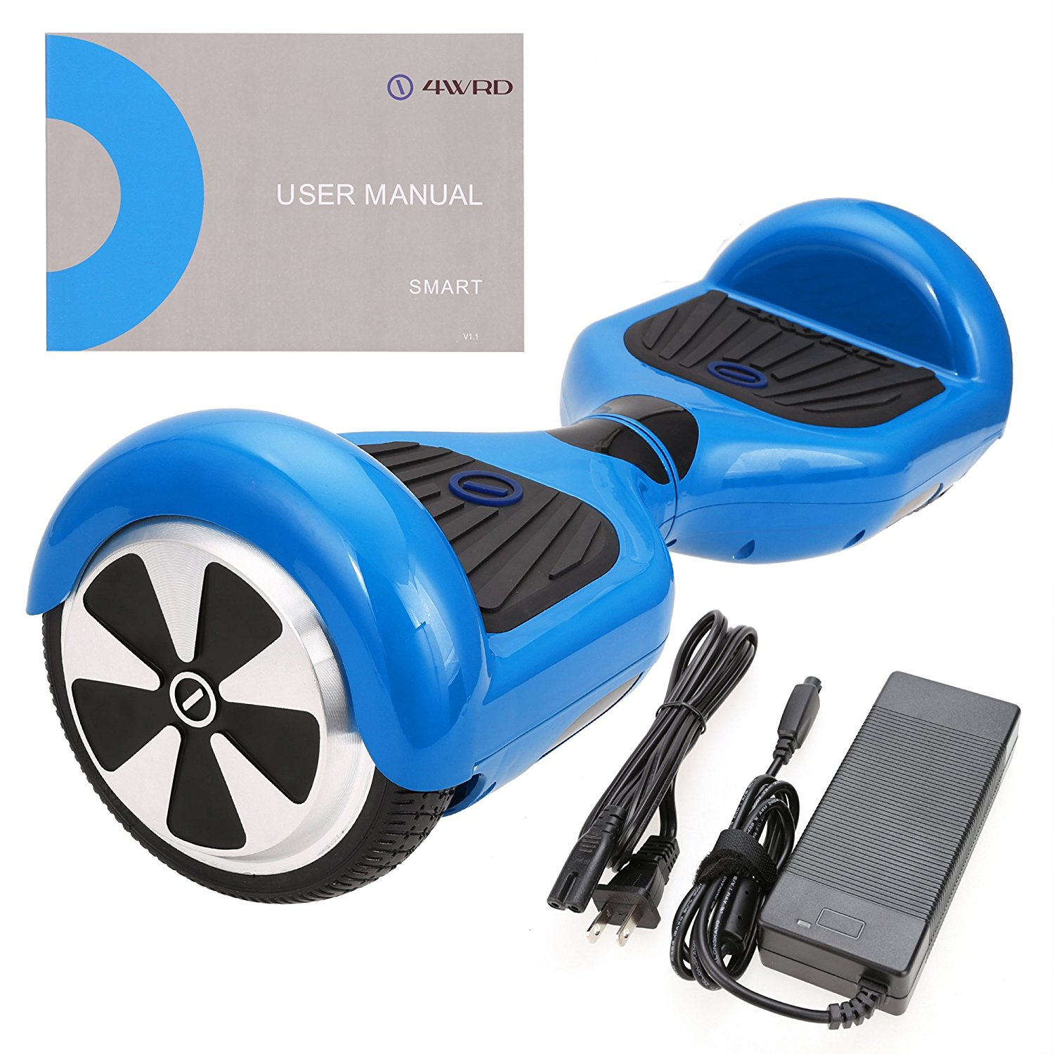 SURFUS Smart S - UL 2272 Certified Hoverboard - Electric Balance hoverboard (Blue)