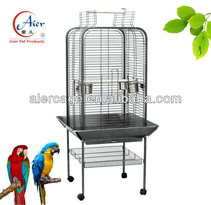 metal seed catcher bird cage