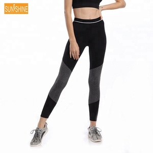 Recycled Pet Bottle Yoga Pants Gym Leggings High Quality Active Wear Yoga Pants
