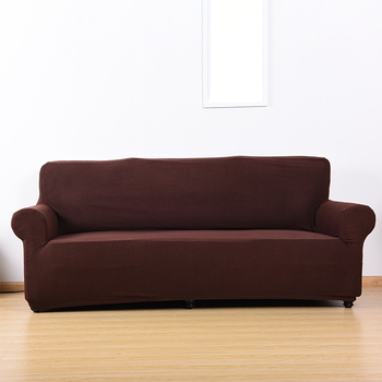 Soft Micro Sofa Cover Slipcover With Elastic