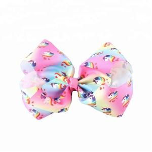 Wholesale Cute Unicorn Metal Clips hair accessories for baby girl