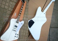 Weifang Rebon 6 string fire-bird good quality electric guitar with white colour