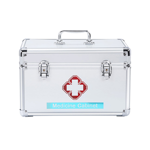 Family Medical Series Aluminum First Aid Kit with Lock