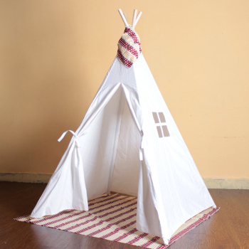 White children diy tent kids play teepee tent outdoor & White Children Diy Tent Kids Play Teepee Tent Outdoor - Buy Large ...