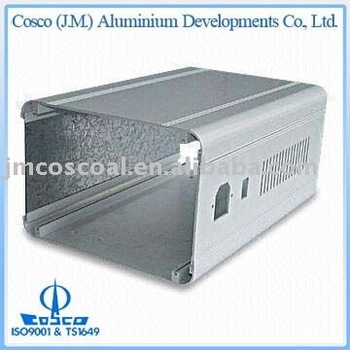 Cosco Aluminium Extrusions, Profiles, Motor Shells for Audio, Video, Digital (Anodized)