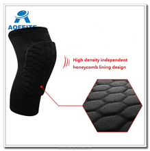 Popular Super Honeycomb type Silicone non-slip bar knee support for out door sports