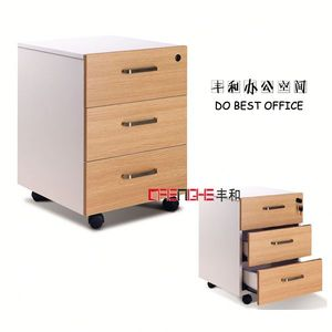 under desk cd dvd storage cabinet/ mobile pedestal E-061 for promotion