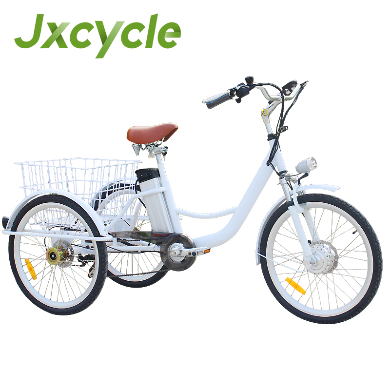 tricycle basket for carrying vegetables and food/shopping cart