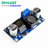 lm2596s adj mini buck boost unregulated step down converter DC 3.6-46V 3A adjustable power Supply module voltage regulator