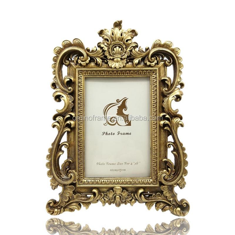 Vintage Gold Square Picture Frame 4x6 - Buy Vintage Picture Frame ...