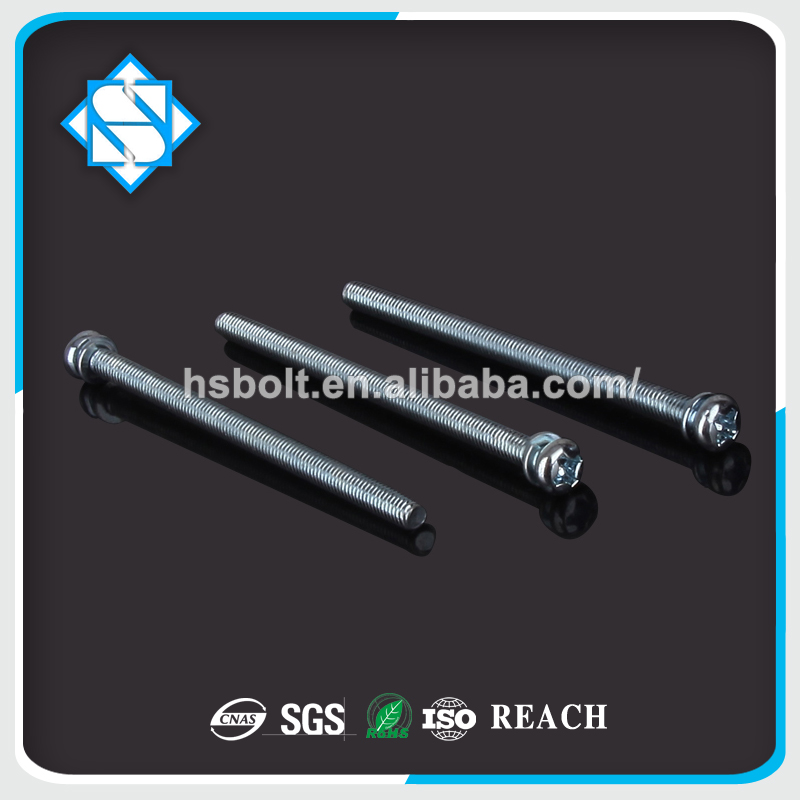 China screw fastener supplier combination of screws stainless steel screw