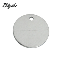 Wholesale High quality Custom Stainless Steel Blank Stamping Dog Tags with Custom Logo