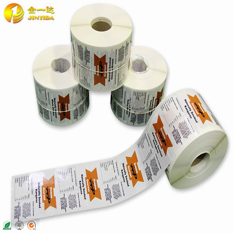 Custom Made Removable Self Adhesive Paper Sticker Label