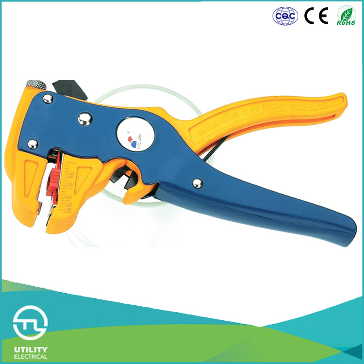 UTL China Supplier Free Sample Hand Tools Electric Wire Stripper With 0.25-2.5mm2 Stripping Range