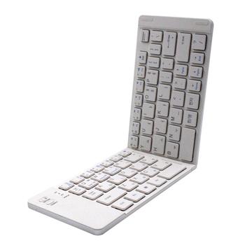 3ed69a98fe0 Universal Mini Wireless Bluetooth 3.0 Folding Foldable Ultra-slim Keyboard  for iPhone iPad Mac iOS